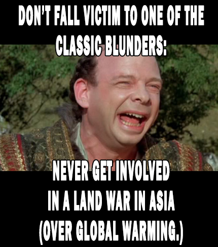 Vizzini Says: Don't Commit the Classic Blunder: No Land Wars in Asia